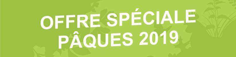 OFFRE SPÉCIALE WEEK-END DE PÂQUES 2019